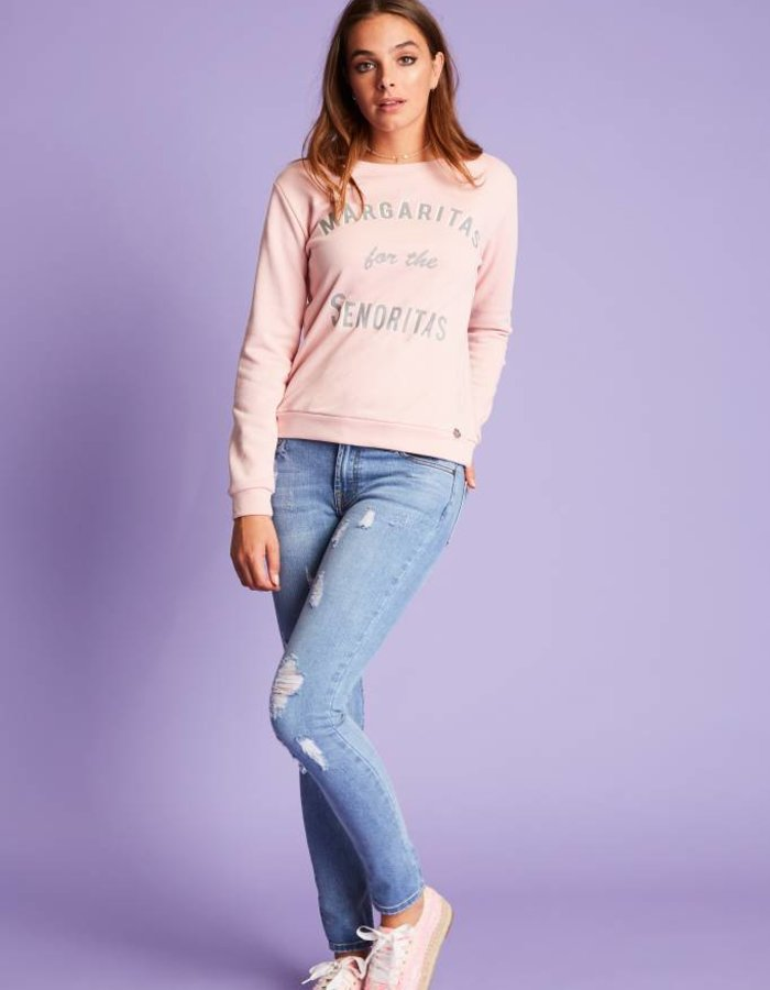 Sweater met statement print