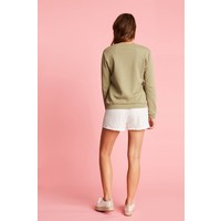 Sweater met statement print