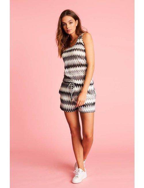 Jacky Luxury Shorts met  ingeweven dessin