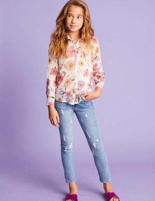 Jacky Luxury Jeans met destroyed details