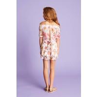 Gelaagde rok met bloemenprint