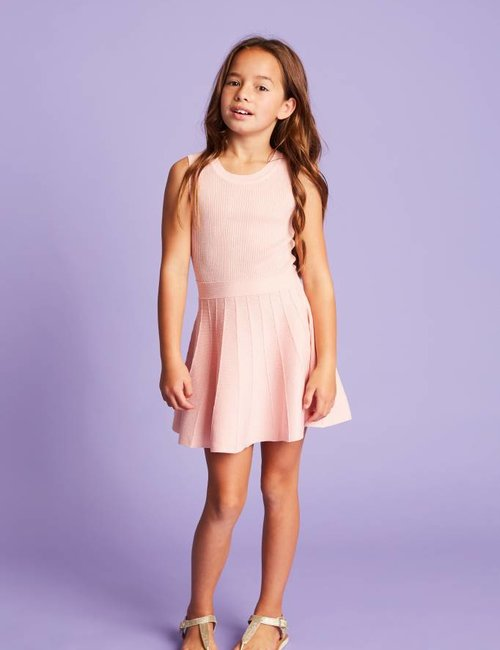 Jacky Luxury A-lijn jurk met glitters