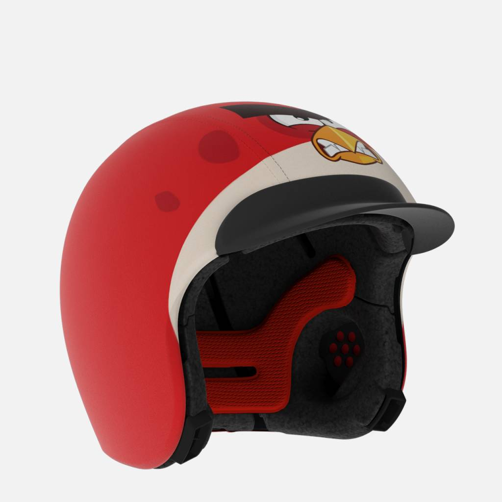 EGG Helmets Angry Birds Red with Suncap