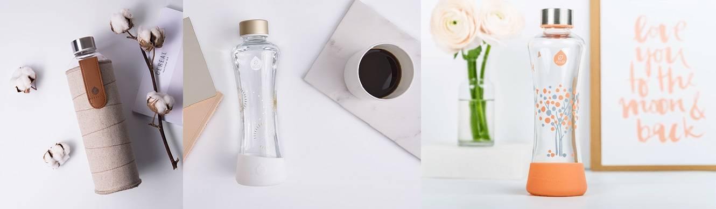 MyEqua: Nieuw merk drinkflessen van glas!
