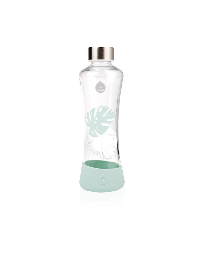 Equa Luxe drinkfles Monstera