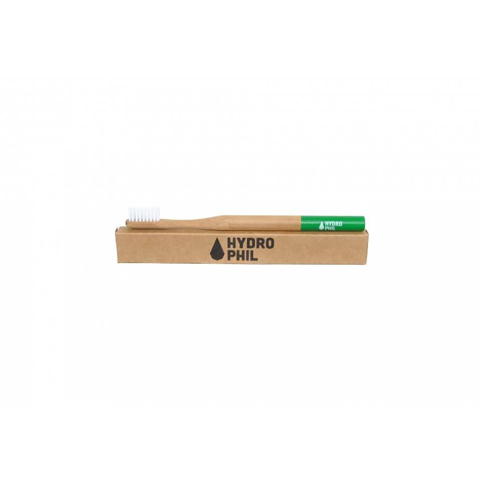 Hydrophil Bamboe Tandenborstel Groen medium