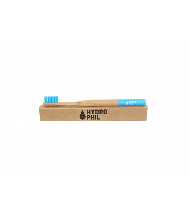 Hydrophil Bamboe Tandenborstel Blauw medium