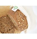 Herbruikbare broodzak biokatoen