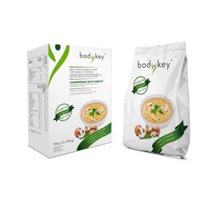 bodykey™ Mahlzeitersatz-Suppe Champignon mit Petersilie bodykey by NUTRILITE™