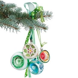 Suseela Raamstickers Christmas green