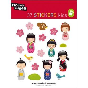 Nouvelles Images Mini stickers Japanese Garden