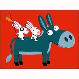 Nouvelles Images Poster Little Donkey
