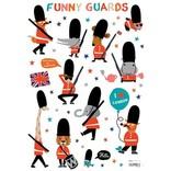 Lilipinso Muurstickers Fun Royal Guards