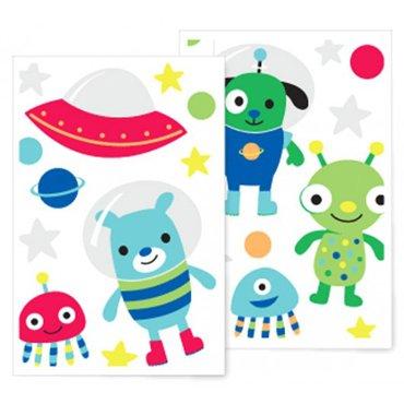 Speckled House Muurstickers Dieren in de ruimte