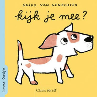 Clavis Kinderboekje Kijk je mee, tamme beestjes