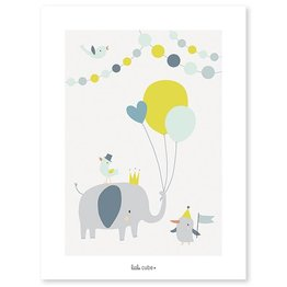 Lilipinso Poster Animal Party Boy