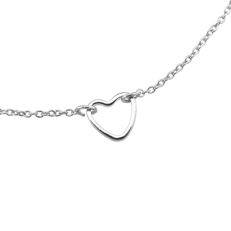 Armband Little Heart zilver