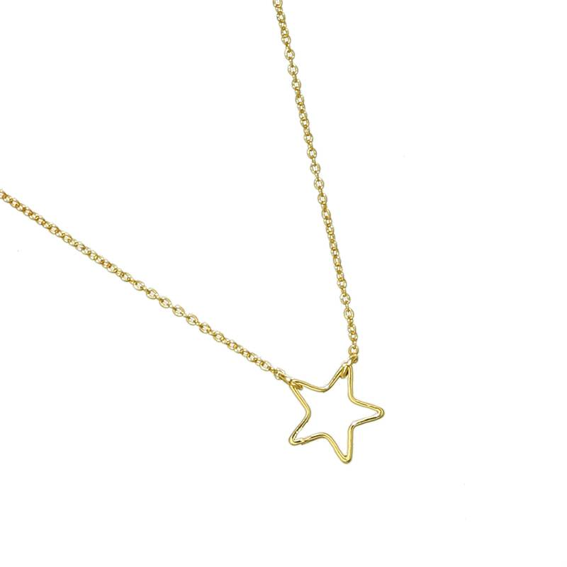 Ketting Little Star goud