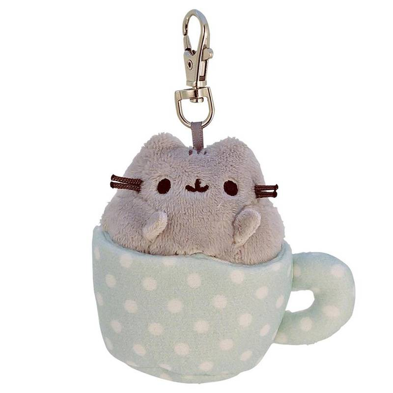 Gund Knuffel kat Pusheen surprise box sleutelhanger