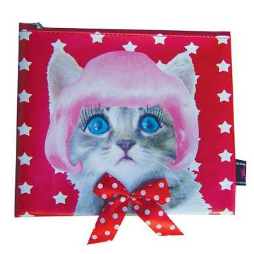 De Kunstboer Etui kat Pink
