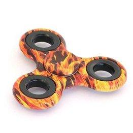 Fidget Hand Spinner Fire oranje