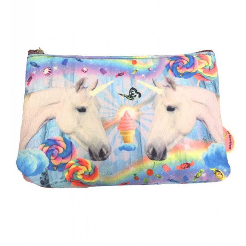 De Kunstboer Etui/toilettas Unicorns