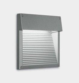 Iguzzini Comfort Incasso 26W incl. lichtbron g24q-3 grijs
