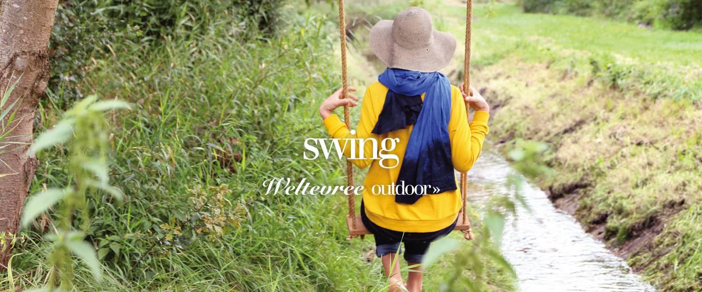 Balancoire poteau exterieur Swing