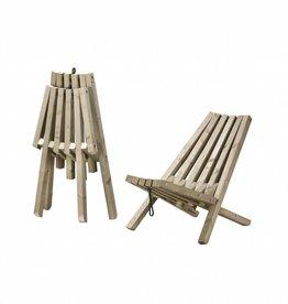 Chaise pliable 'Fieldchair' (set de 2)