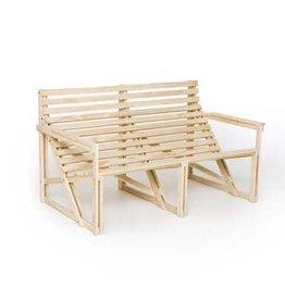 Patiobench 2-3 Seater