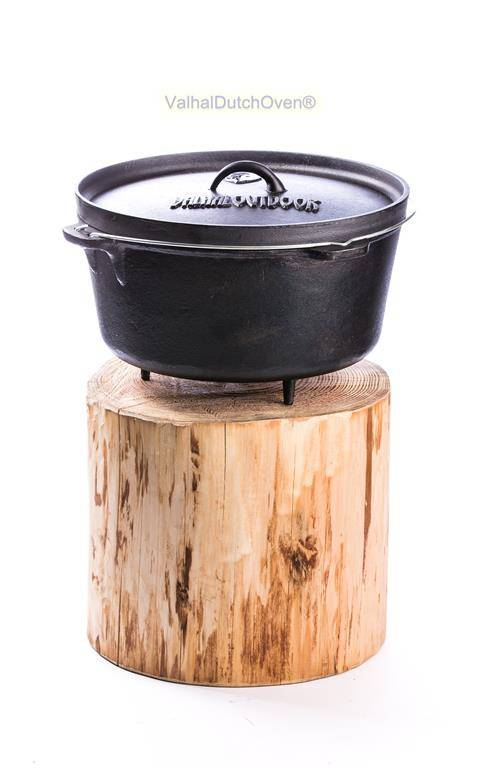 Valhal Outdoor Dutch oven Valhal 13,5 ltr