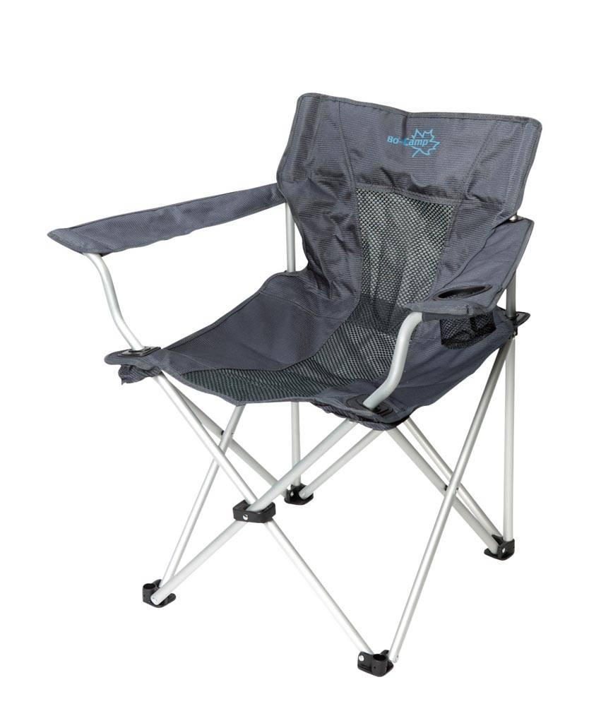 Bo-Camp Vouwstoel Deluxe Classic grijs