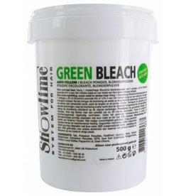 ShowTime Green Bleach Powder Anti Geel pot 500gram