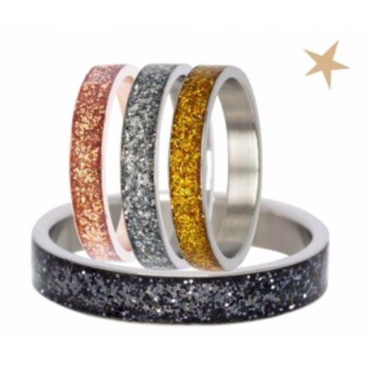 IXXXI Jewelry Glitter Ring 4 colors.