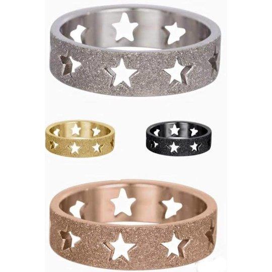 IXXXI Jewelry Sandblasted stars