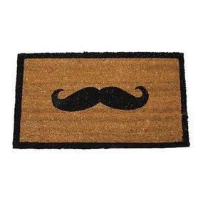 Deurmat 'moustache'