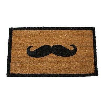 Doormat 'moustache'