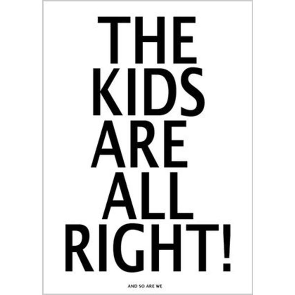 the kids poster 50x70cm