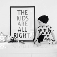 MiniWilla poster the kids 50x70cm