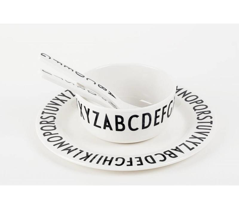 Design Buchstaben Melaminplatte flach