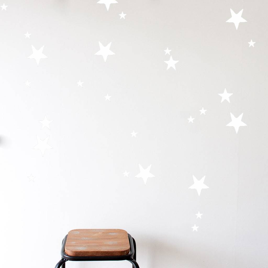 mevrouw aardbei 47 wall stickers stars off white mevrouw aardbei 47 wall stickers stars off white
