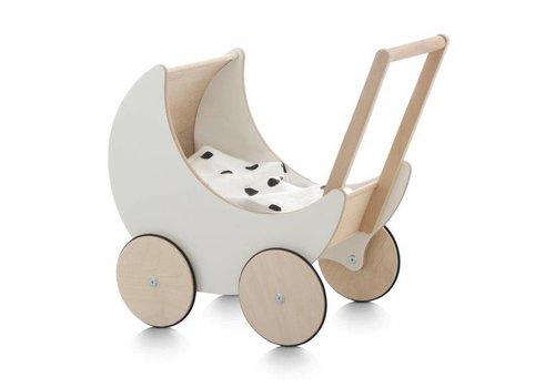 Ooh Noo Puppenwagen Holz