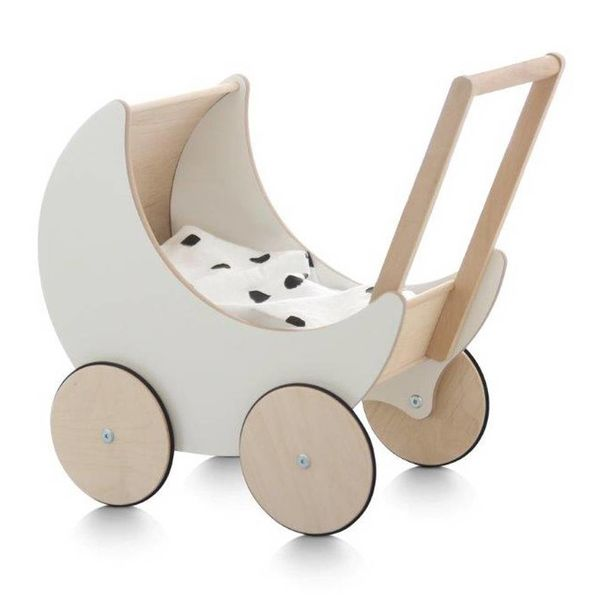 doll carriage wood