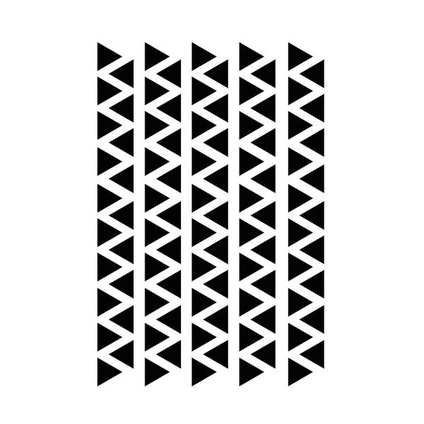 95 wall stickers triangle 2.2cm