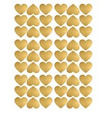 Pom le Bonhomme 54 wall stickers hearts of gold