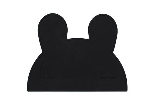 We Might Be Tiny placemat rabbit black