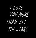 Shanna Murray muursticker all the stars - wit