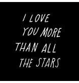 Shanna Murray wall sticker all the stars - white
