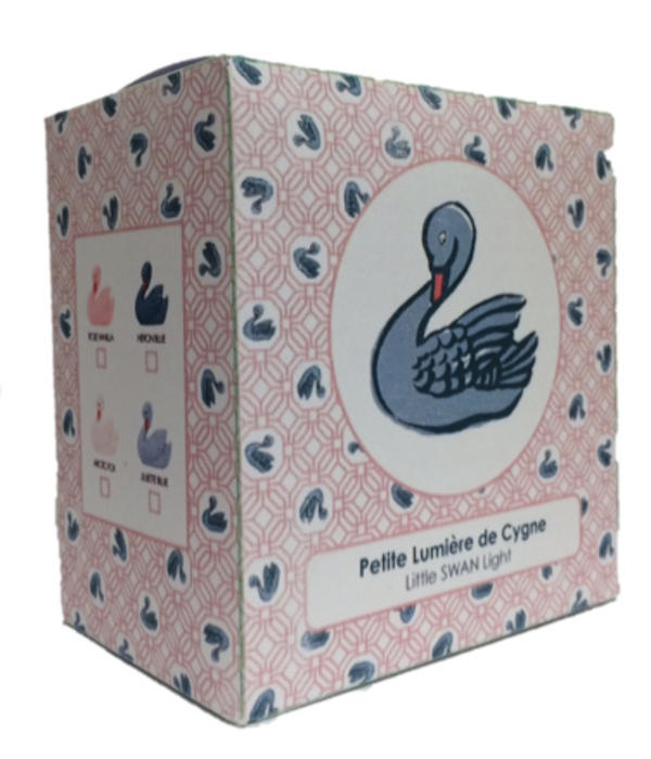 Lapin & Me mini light swan - rose vanilla