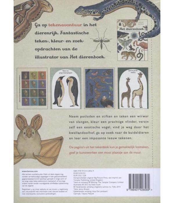 Boek Het leukste dierendoeboek